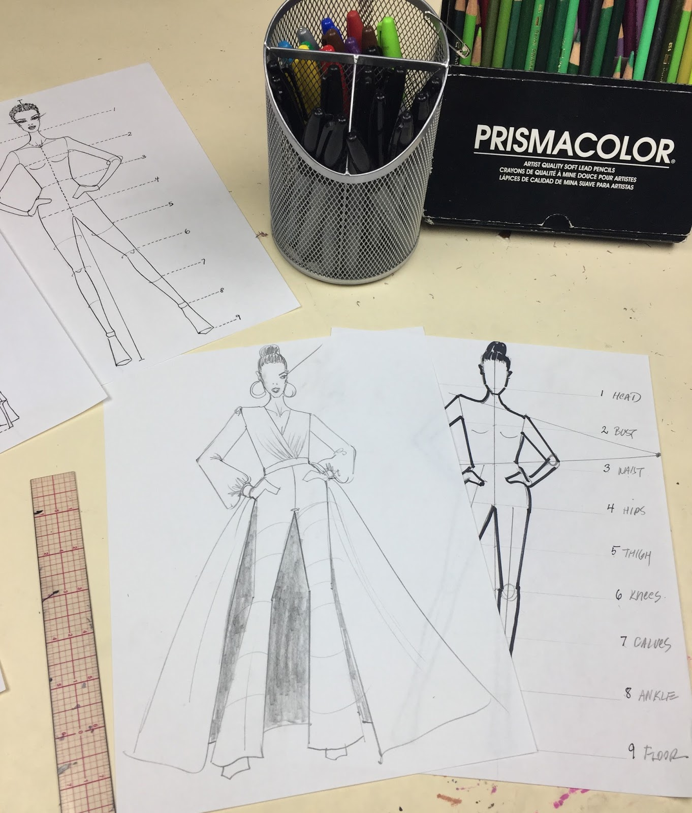 fashion school with nicknew video how to draw a