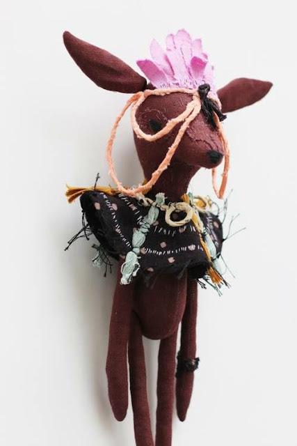 Abigail Brown tribal doll