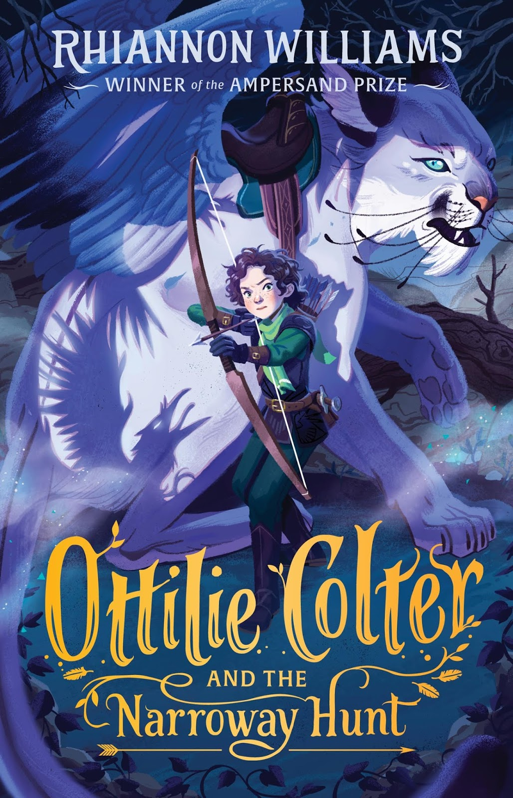 Ottilie Colter and the Narrowway hunt book cover