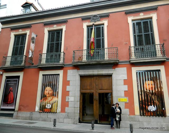 Museu do Romantismo, Madri, bairro de Chueca