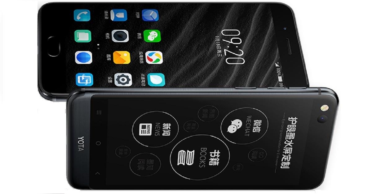Yotaphone 3 - dwuekranowi smartfon