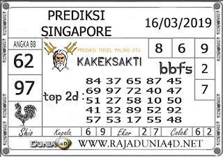 Prediksi Togel SINGAPORE DUNIA4D 16 MARET 2019