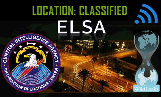 ELSA: New CIA Tool Revealed By Wikileaks Which Was Used To Track PCs Via WI-Fi