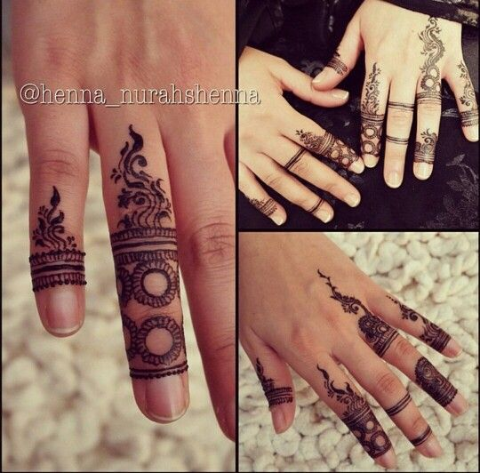 Different Ring Mehndi Designs For Fingers