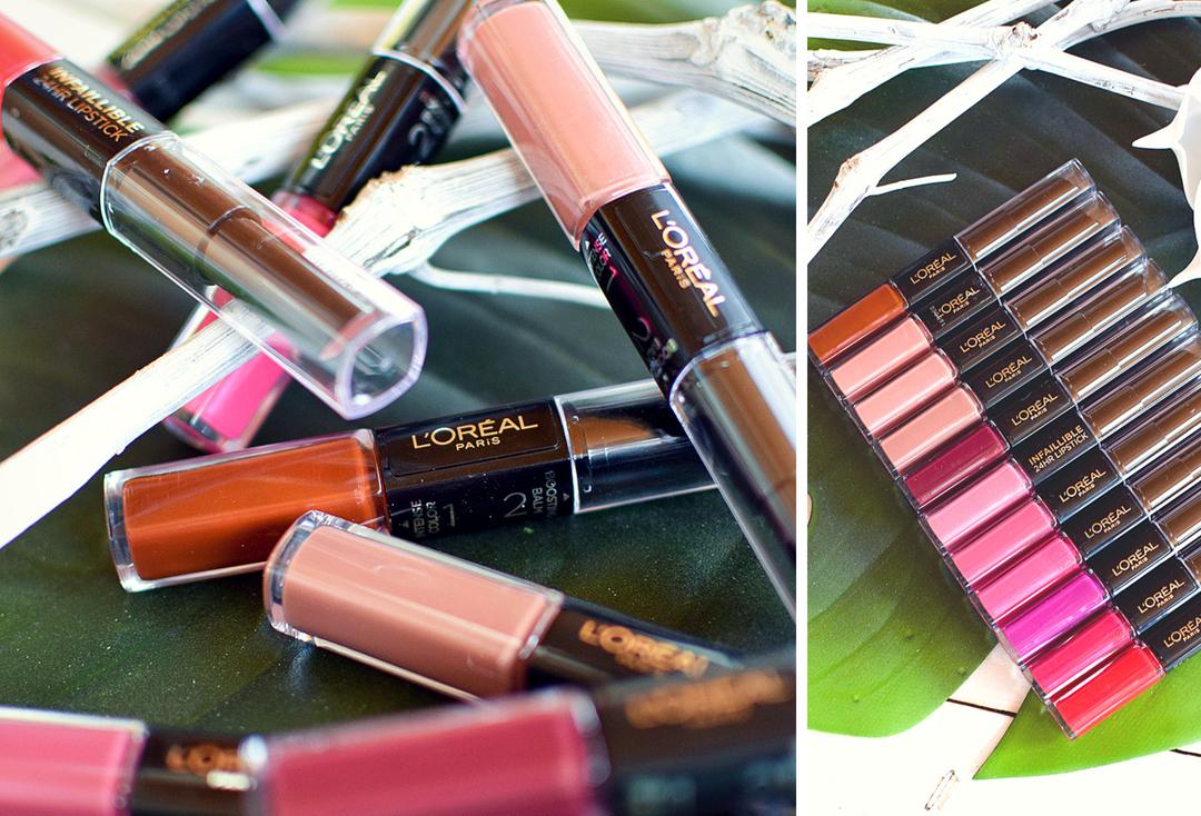 wie gut sind die neuen  L'Oréal Paris Infaillible X3 24h Lippenstifte