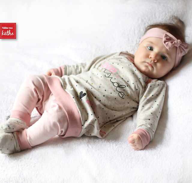 Baby Feli von Rosarosa, Babyset nähen, Basicshirt und Leggings