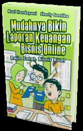 Cara mudah bikin laporan keuangan bisnis online dgn buku mblkbo