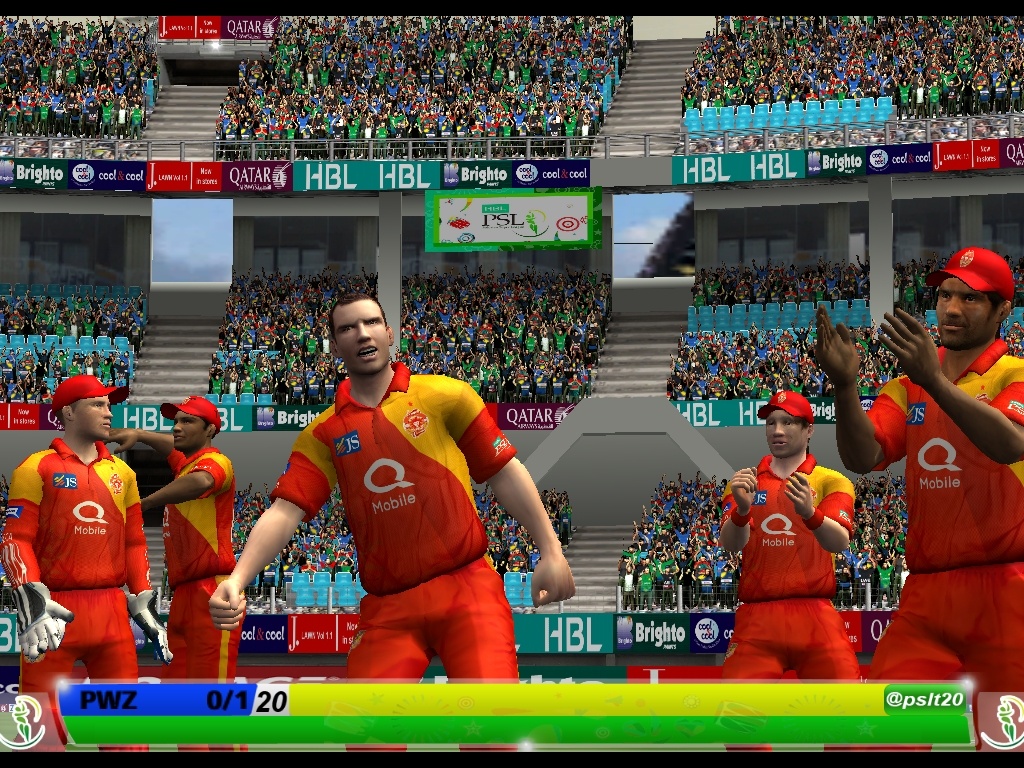 HBL PSL 2017 OFFICIAL HD PATCH FOR CRICKET 07 Now Released