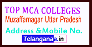 Top MCA Colleges in Muzaffarnagar Uttar Pradesh