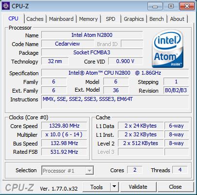 Melihat Spesifikasi PC atau Laptop Dengan Menggunakan Aplikasi CPU-Z