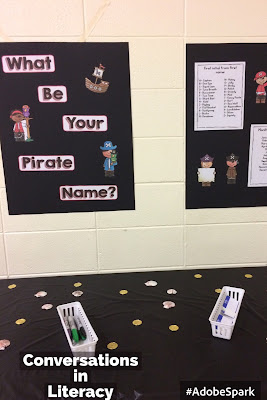 Family Literacy Night Pirate Theme