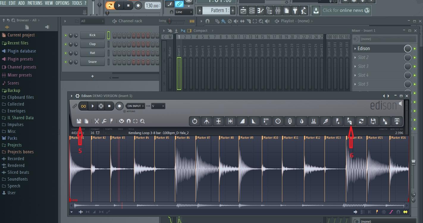 Memotong Loop Sampling Menggunakan FL Studio (Fruity Loops)