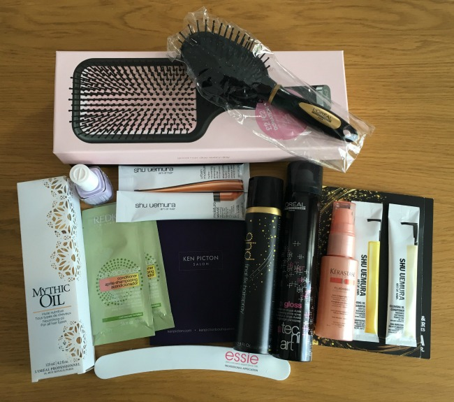 ken-picton-salon-Cardiff-a-review-goody-bag-contents