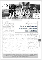 NOTES  10 - 2018  - Notiziario Aimc
