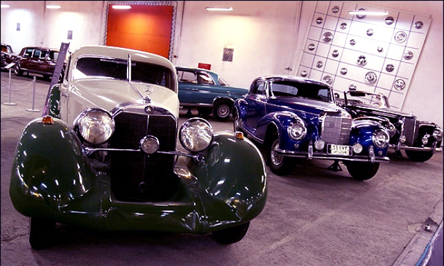 Old classic cars of National car museum of Iran.