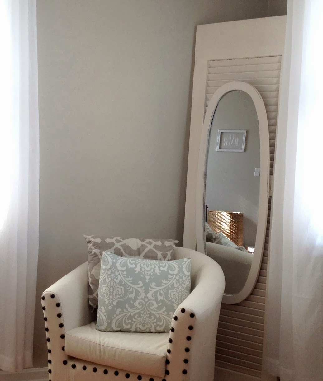Two It Yourself Repurposed Louvered Door And Full Length