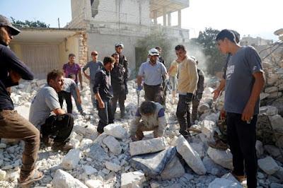 Lagi, Serangan Udara Hantam Rumah Sakit Suriah, 10 Tewas