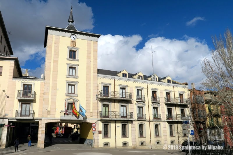 Aranda de Duero  アランダ·デ·ドゥエロスペインの中世のワイン町