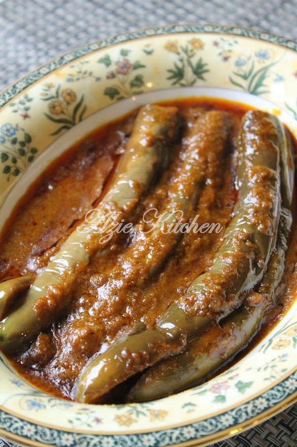 Pajeri Terung Wan Chu Yang Mudah Dan Paling Sedap Azie Kitchen