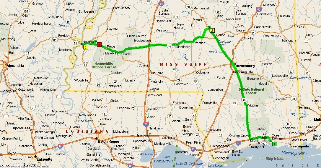 Roving Reports By Doug P 2012 9 Ocean Springs To Natchez