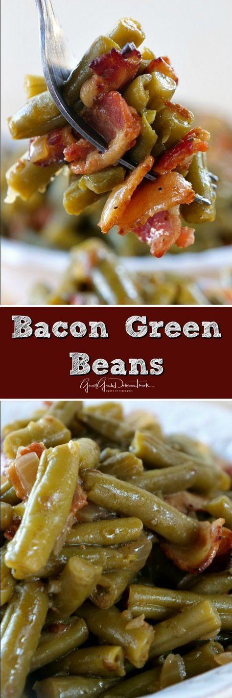 Easy Bacon Green Beans