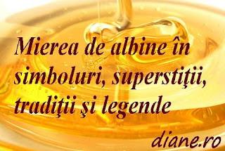 Superstitii despre miere