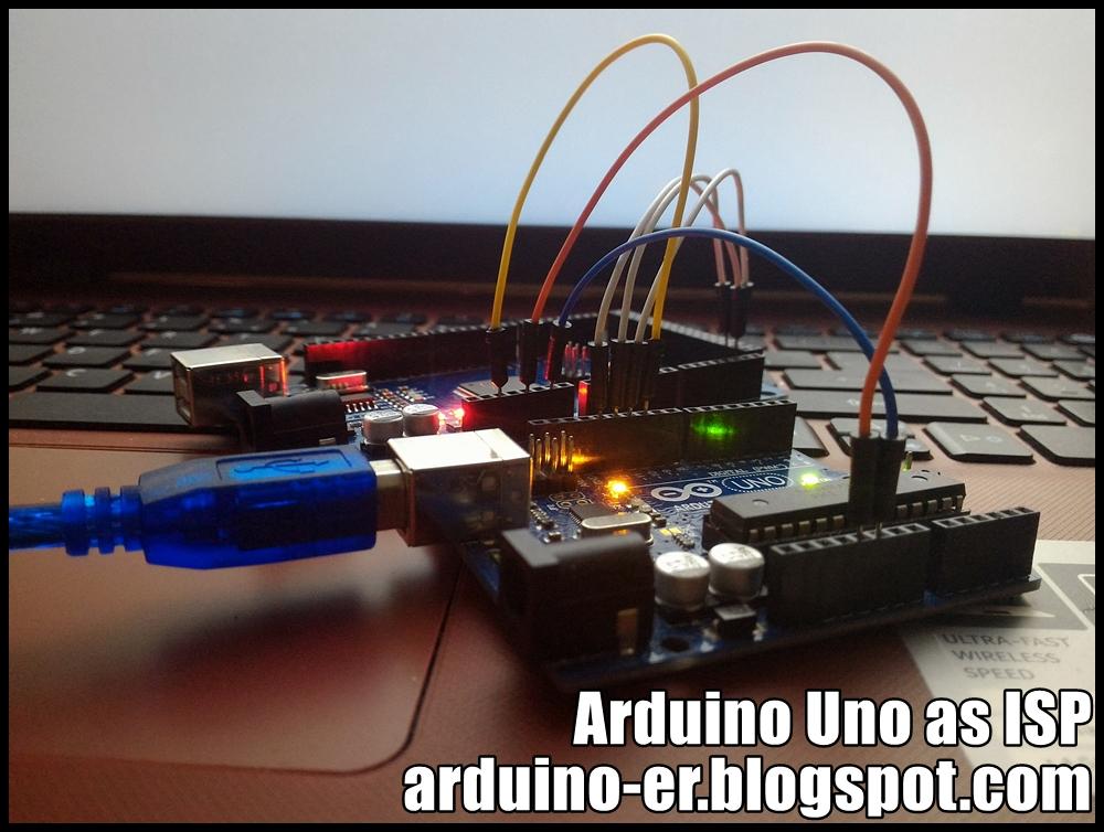 Arduino er arduin uno as isp to burn bootloader mega
