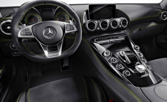 2017 Mercedes AMG GT-R Interior