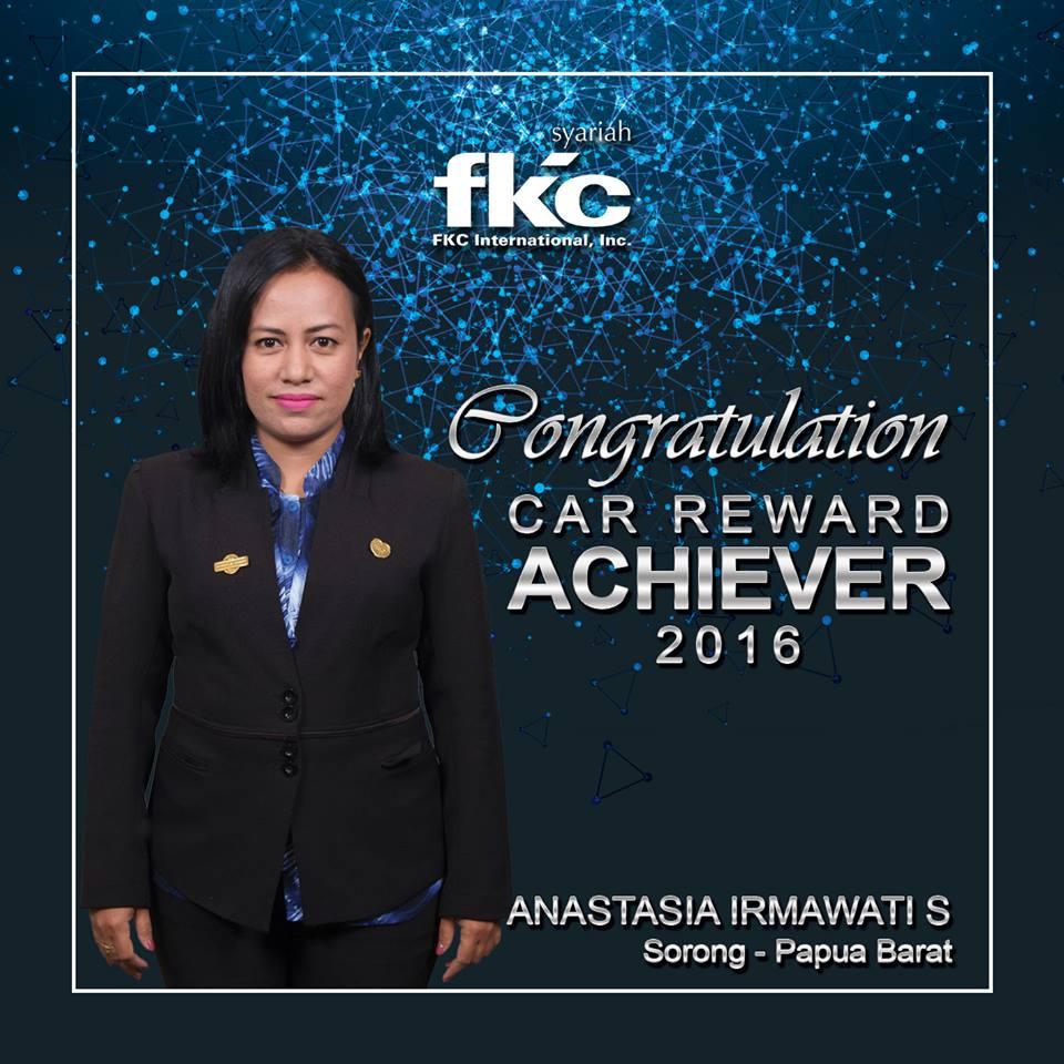 Bisnis Fkc Syariah - Reward Anastasia
