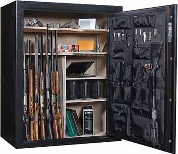 There Are Also Safes With Vault Doors Protecting Rooms That Dedicated To Housing The Firearms And Ammunition These Walk In Used As A