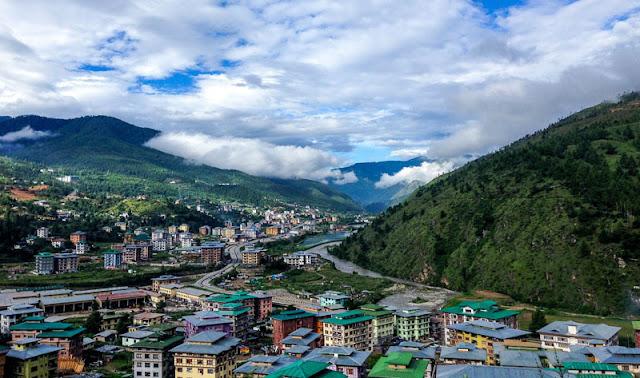 Gambar Kota negara Bhutan