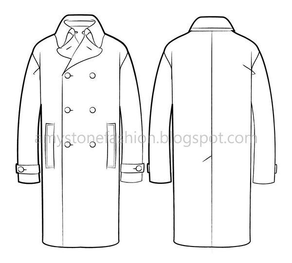 Amy stone fashion flat sketches mens coat flat fashion sketch mens coat flat fashion sketch templates 0134 maxwellsz