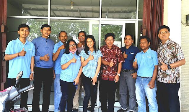 Training Kima Konstruksi Deltacrete bersama tim Corindo