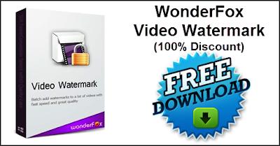 Αποκτήστε Δωρεάν το WonderFox Video Watermark, Μέχρι και τις 7/11/15