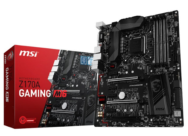 MSI Motherboard Z170A GAMING M6