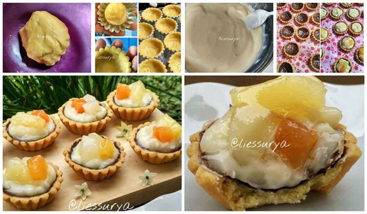 Resep Membuat Pie Mini Buah Praktis Lengkap Dengan Tips!