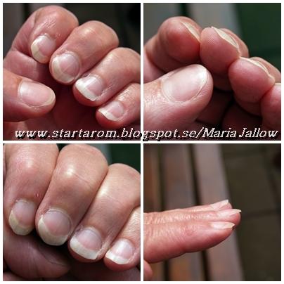 böjda naglar