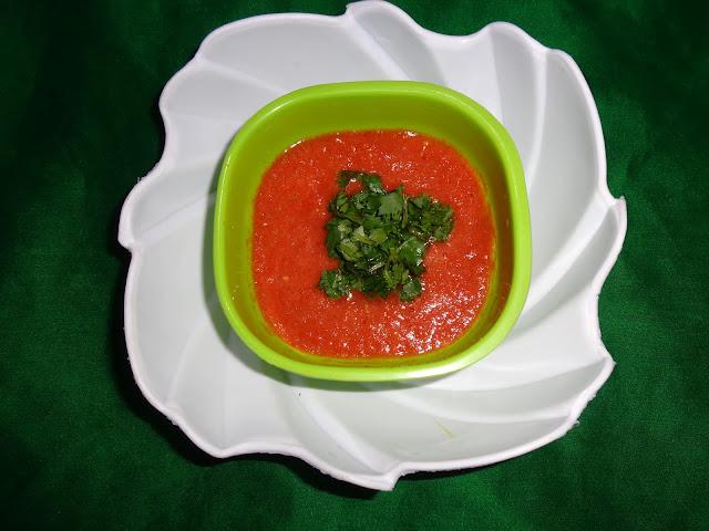 Tomato chutney.