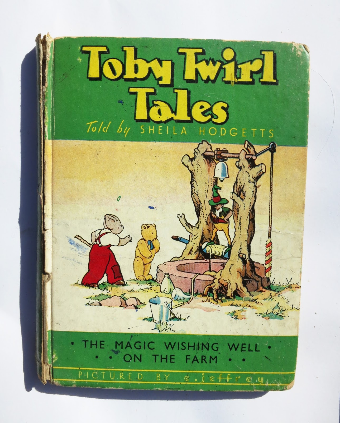 Front cover of Toby Twirl Book 2