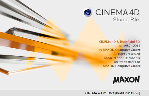 Cinema 4D R16