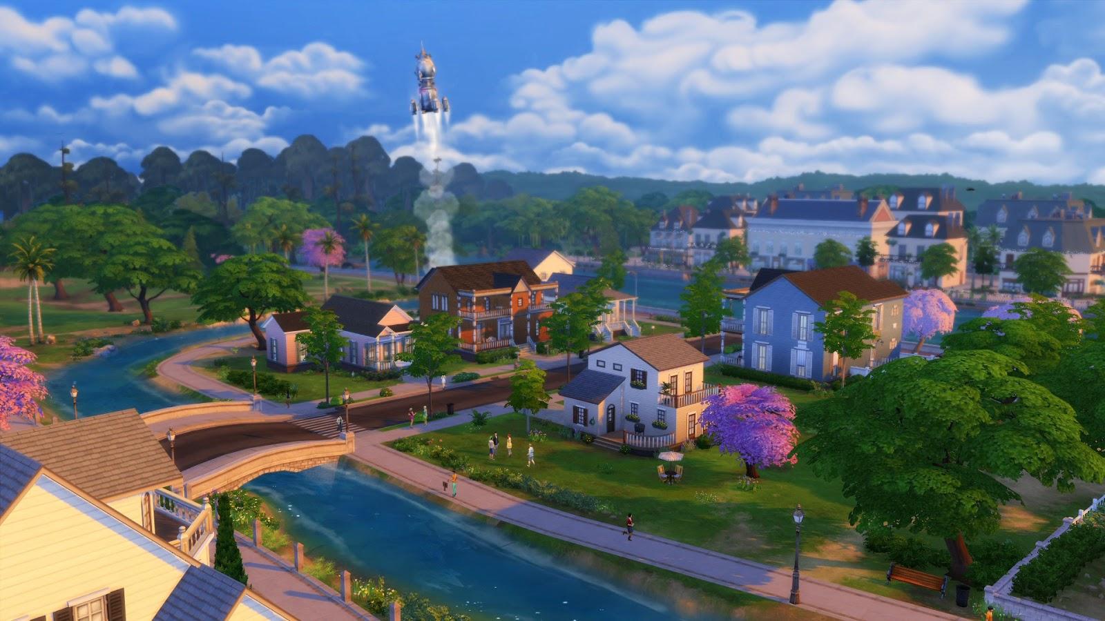 ย่านหนึ่งที่ซิมส์อาศัย ใน The Sims 4
