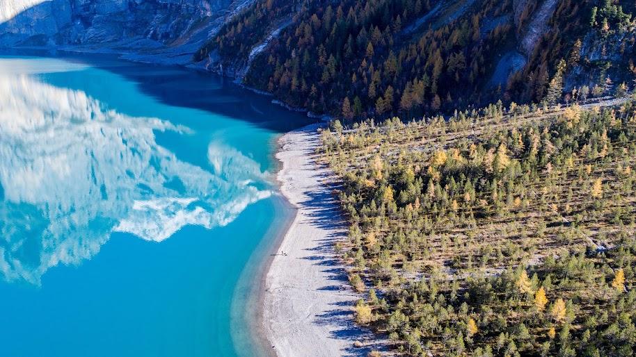 Switzerland, Oeschinen Lake, Scenery, Nature, 4K, #182