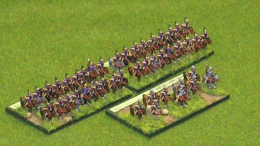 Heavy and Light Greek Cavalry