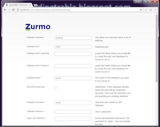 Install Zurmo CRM 3.1.5 on Windows with XAMPP PHP CRM tutorial 24