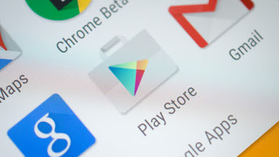 cara log out akun Google Play Store