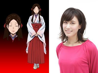 Karin Nanami como Yuriko Nishinotōin
