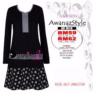 T-Shirt-Muslimah-Awanazstyle-AW001M