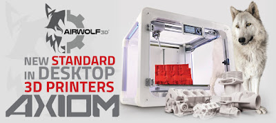 AIRWOLF 3D AXIOM 3D Printer Review and Driver Download