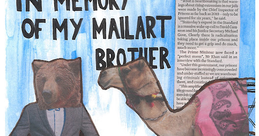 Mailart 365: 33 - In memory of Camelorama