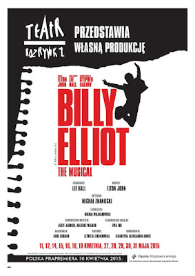 spektakl, teatr, Chorzów, musical, Billy Elliot